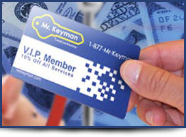 Locksmith V.I.P Service Card